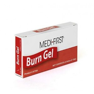 Burn Gel W/Lidocain 1/8Oz Packets 6/BX 10/CS