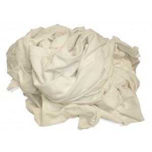 Rag TShirt 100% White 50# Bale 30/Pallet