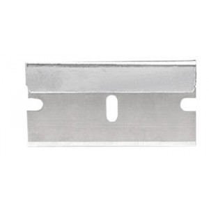 Razor Blade #9 Single Edge 2-Notch Standard Heavy Duty 100/BX