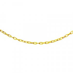 Safety Cone Barrier Chain 20' Yellow