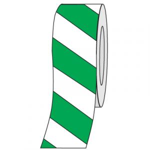 Tape Aisle Marking 2x36yd White/Green 24/CS