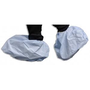 Shoe Cover SBPP Laminated 45x20Cm Blue Large 100/BG 3/CS