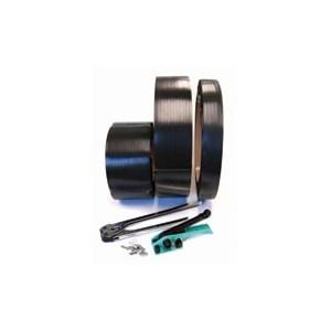 Strapping Polypropylene .5x.031x7200' 600# Black 16x6 28/PLT