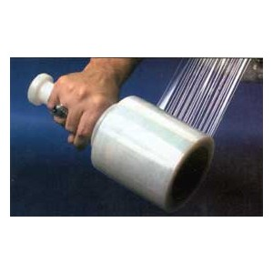 "Stretch Film 3""x700' 120GA 1-Handle per case 18RLS/CS"