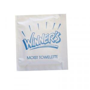 Fresh Nap Moist Towelettes, 4x7, White