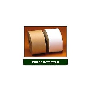 Tape Reinforced Paper 3x450' Kraft Water Activated 10RL/CS 60/PLT