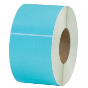 "Label Thermal Transfer 4x6 3"" core Light Blue 1000/RL 4/CS"