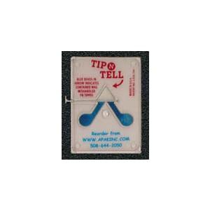 Tip-N-Tell no logo Plastic pull pin 100/BX 12/CS (1200/CS)