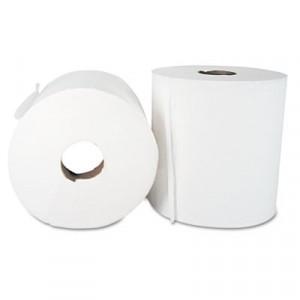 Towel Center Pull 8.3x15 600' 2Ply White Sheet 6RL/CS 55/PLT