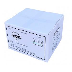 "V-Clean 9.5"" Latex Cleanroom Gloves (1,000 gloves per case)"