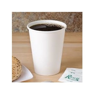 Cup Paper 12oz. White Hot 1000/CS
