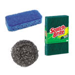 Sponges, Scrubbers & Scoring Pads